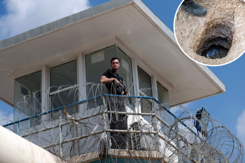 Six 'jihadi' prisoners escape prime Israeli jail by digging large escape tunnel with rusty spoon